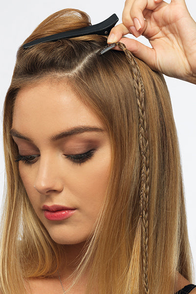 POP by Hairdo - Two Braid Extension Step 2