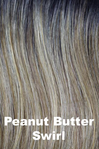 Orchid Wigs - Carter (#6528) wig Orchid Peanut Butter Swirl Average