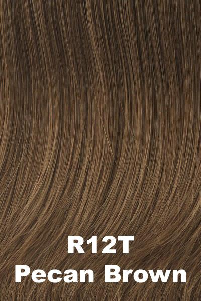 Hairdo Wigs - Kidz-Pretty in Page (#PRTPGE) wig Hairdo by Hair U Wear R12T-Pecan Brown Ultra Petite