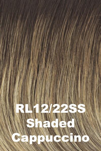 Raquel Welch Wigs - On Point wig Raquel Welch Shaded Cappuccino (RL12/22SS) + $4.25 Average