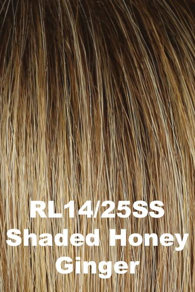 Raquel Welch Wigs - On Point wig Raquel Welch Shaded Honey Ginger (RL14/25SS) + $4.25 Average