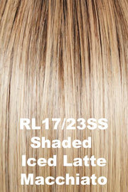 Raquel Welch Wigs - Crowd Pleaser wig Raquel Welch Shaded Iced Latte Macchiato (RL17/23SS) + $4.25 Average