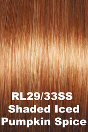 Raquel Welch Wigs - Crowd Pleaser wig Raquel Welch Shaded Iced Pumpkin Spice (RL29/33SS) + $4.25 Average