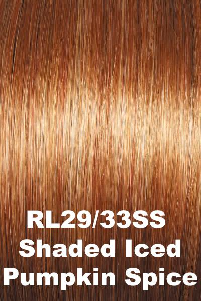 Raquel Welch Wigs - Big Time wig Raquel Welch Shaded Iced Pumpkin Spice (RL29/33SS) + $4.25 Average