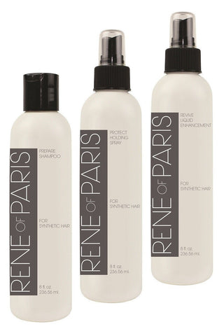 Rene of Paris - 3 Pack Combo - Shampoo, Revive, Wig Spray