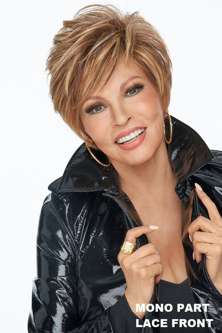 Sale - Raquel Welch Wigs - On Your Game - Color: Black Coffee (RL4/6)
