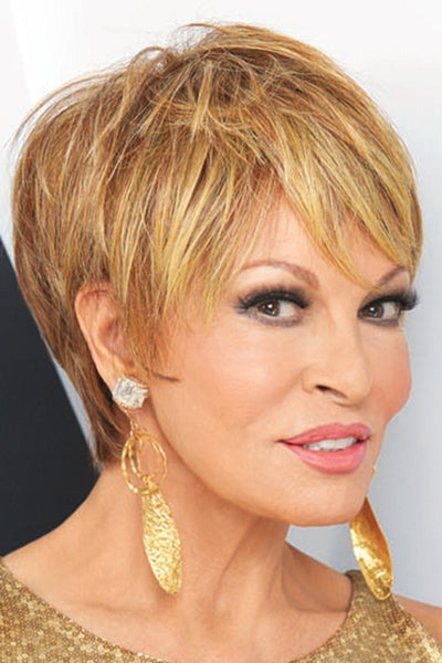 Raquel Welch Wigs : Cutting Edge - side