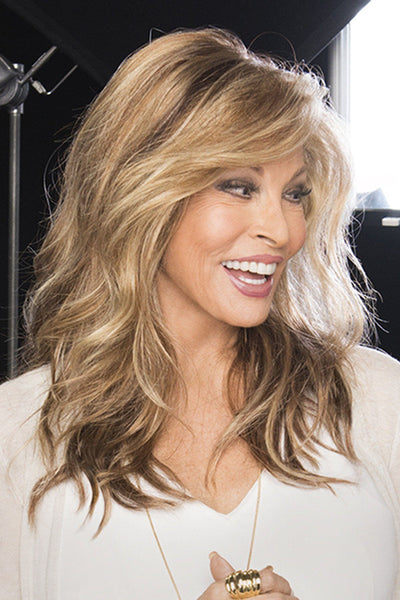 Raquel Welch Wigs - Longing for Long side 1