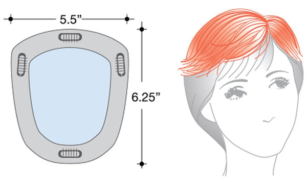 Rene of Paris Wigs : New Addition (#770) - diagram