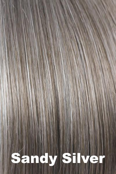 Orchid Wigs - Petite Portia (#5022) wig Orchid Sandy Silver Petite