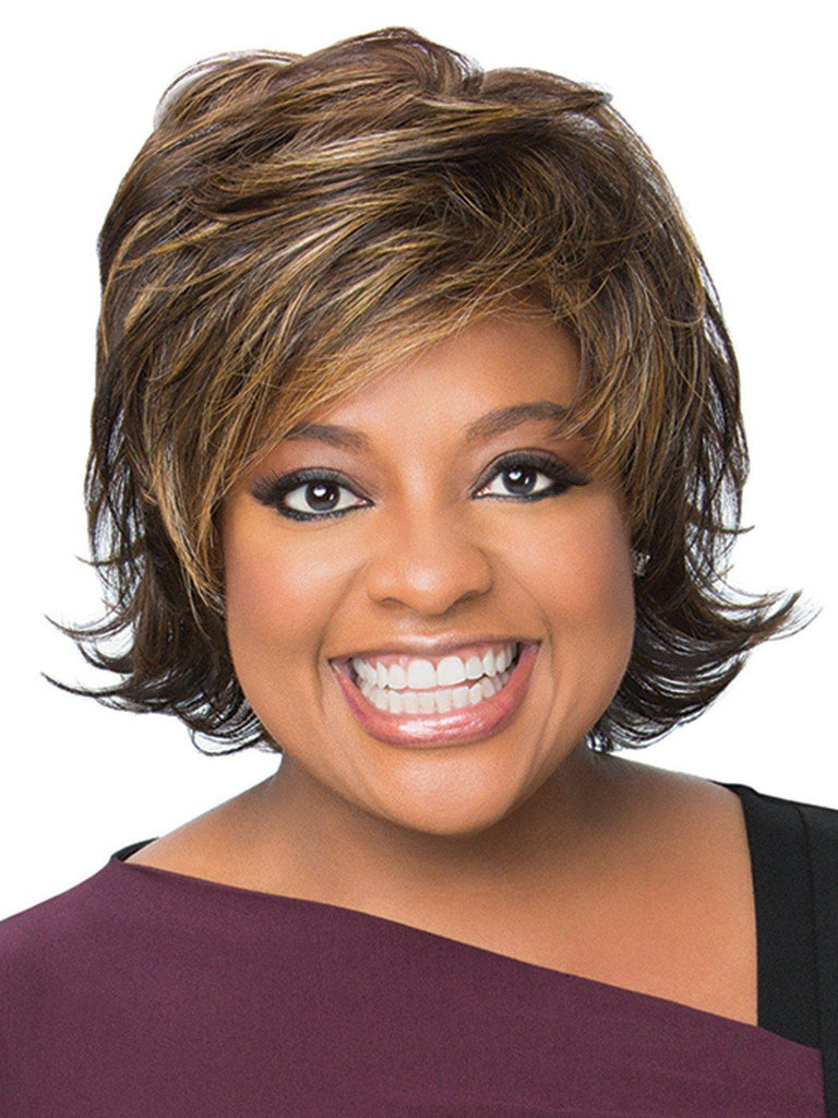 Sherri Shepherd Wigs - Feather Light Shag 1