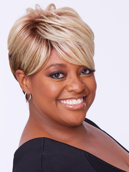Sherri Shepherd Wigs - Smooth & Chic front 3