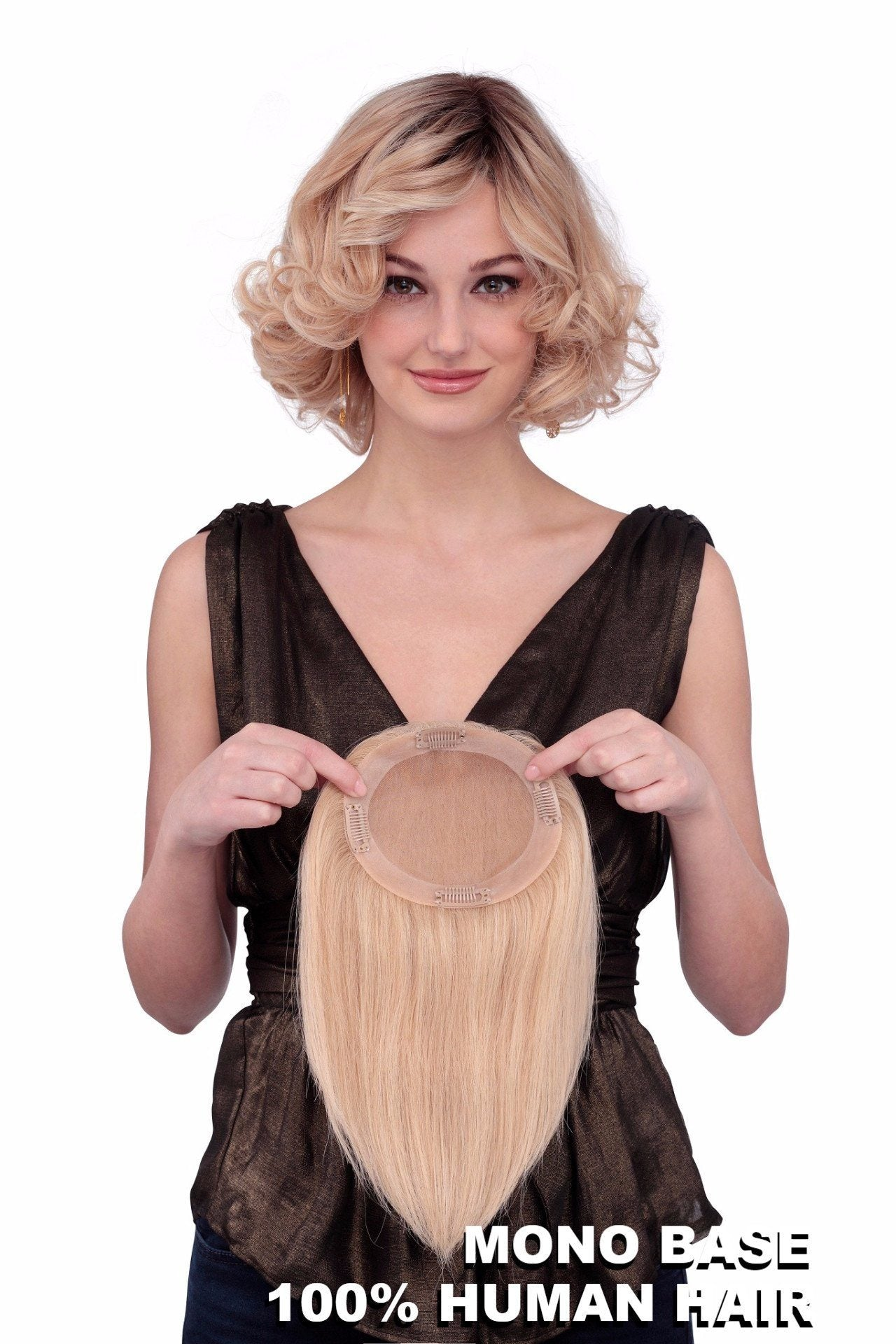 Louis Ferre Wigs : TP 4001 Human Hair back 1