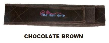 HAIR GRIP - CHOCOLATE BROWN