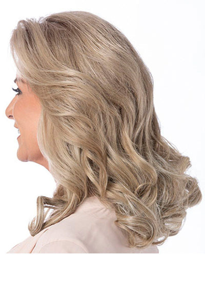 Toni Brattin 10 inch 2pc extension curls - side