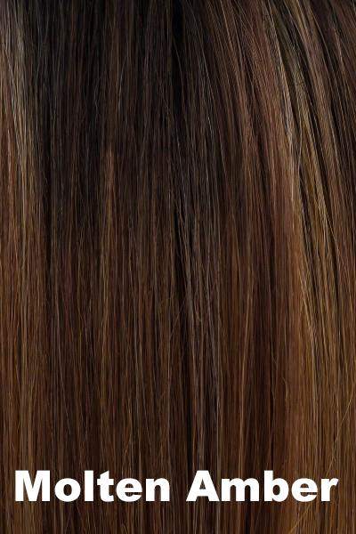 Orchid Wigs - Spellbound (#4102) wig Orchid Molten Amber Average