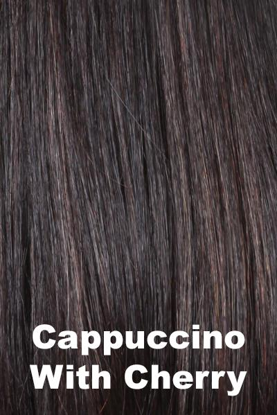 "Belle Tress Wigs - Lace Front Mono Top 6"" (#7009) wig Belle Tress Cappuccino with Cherry"