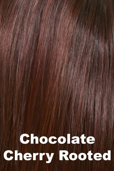 Envy Wigs - Sabrina - Human Hair Blend wig Envy Chocolate Cherry Average