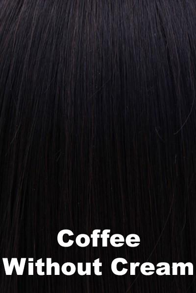 "Belle Tress Wigs - Lace Front Mono Top 6"" (#7009) wig Belle Tress Coffee without Cream"