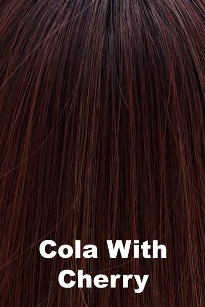 "Belle Tress Wigs - Lace Front Mono Top 6"" (#7009) wig Belle Tress Cola with Cherry"