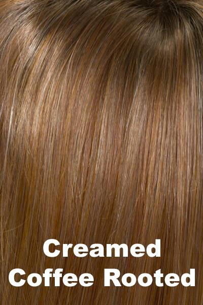 Envy Wigs - Veronica - Human Hair Blend wig Envy Creamed Coffee Average