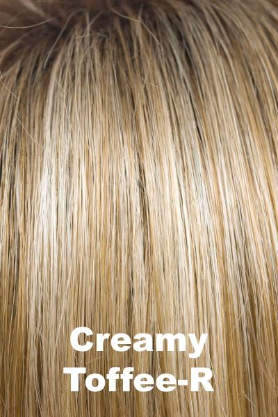 Amore Wigs - Medium Mono Top Piece #751 wig Amore Creamy Toffee-R