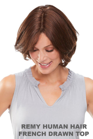 "Easihair - easiPart French 8"" Exclusive Colors (#739A) front 1"