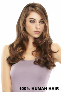 EasiVolume : Elite Remy HH 18 inch (#330) Front 1
