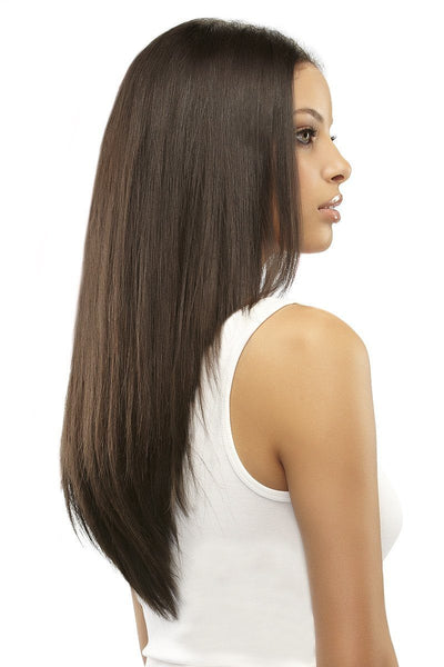 EasiXtend Clip-in Extensions : Elite 16 HH Set (#322) Side