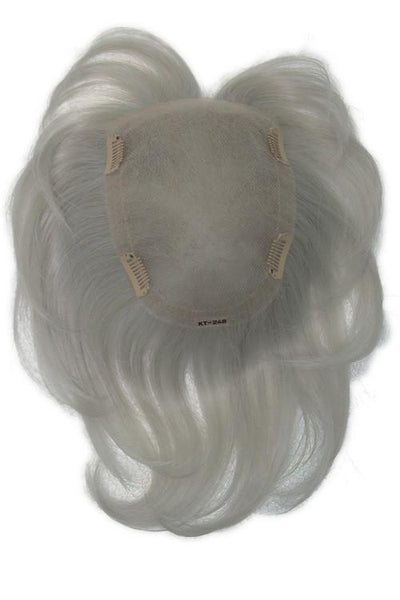 Ellen Wille Wigs - Real - Human Hair Blend - Silver - Cap