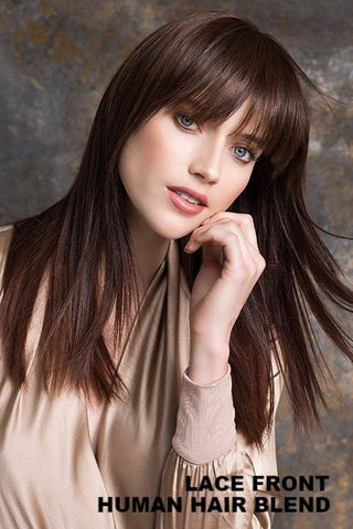 Ellen Wille Wigs - True (Bang) - Human Hair Blend wig Ellen Wille Chocolate Mix