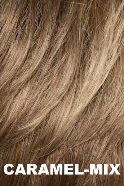 Ellen Wille Wigs - Pleasure - Remy Human Hair - Top Piece wig Ellen Wille Caramel Mix
