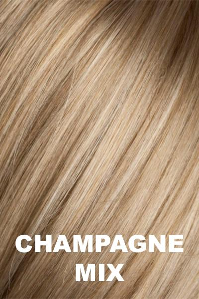 Ellen Wille Wigs - Smoke Hi Mono wig Ellen Wille Champagne Mix Petite-Average