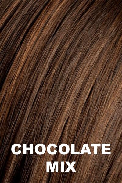 Ellen Wille Wigs - Smoke Hi Mono wig Ellen Wille Chocolate Mix Petite-Average