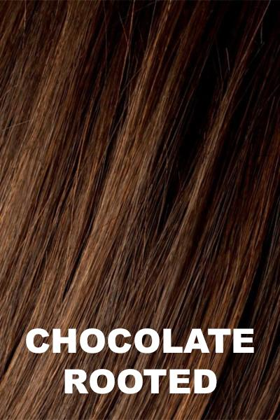 Ellen Wille Wigs - Movie wig Ellen Wille Chocolate Rooted Petite-Average