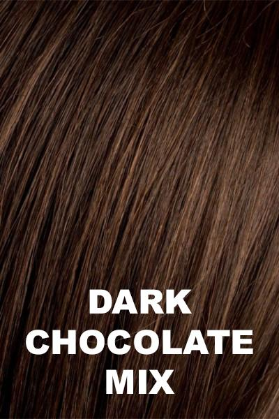 Ellen Wille Wigs - Pleasure - Remy Human Hair - Top Piece wig Ellen Wille Dark Chocolate Mix