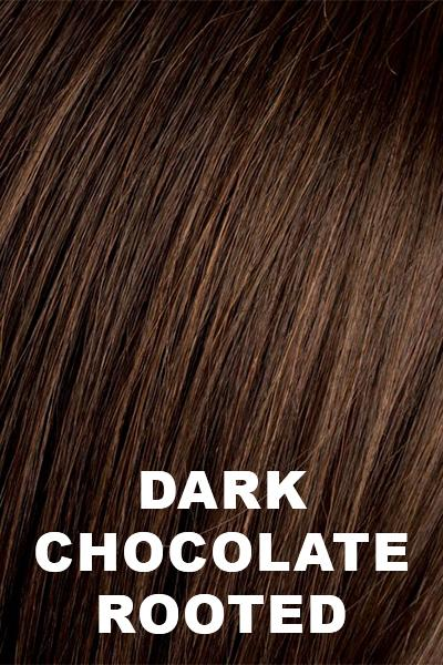 Ellen Wille Wigs - Stay wig Ellen Wille Dark Chocolate Rooted Petite-Average