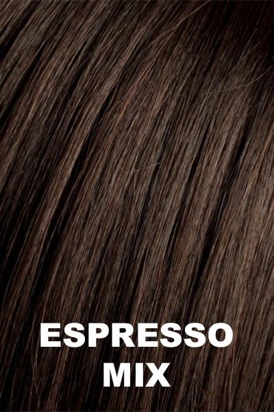 Ellen Wille Wigs - Smoke Hi Mono wig Ellen Wille Espresso Mix Petite-Average