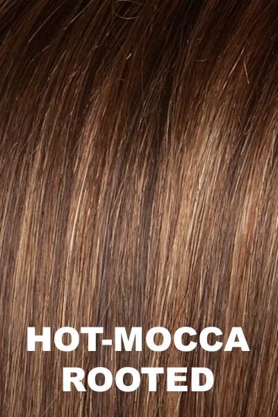 Ellen Wille Wigs - Flair Mono wig Ellen Wille Hot Mocca Rooted Petite-Average