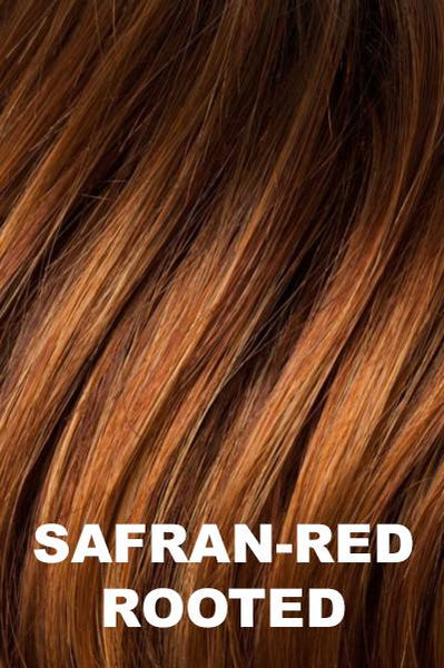Safran Rooted - Dark Copper Red, Copper Red, and Light Copper Red Blend with Dark Auburn Roots