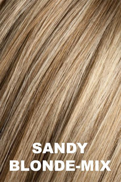 Ellen Wille Wigs - Ginger Mono wig Ellen Wille Sandy Blonde Mix Average
