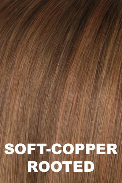Ellen Wille Wigs - Trinity Plus - Remy Human Hair wig Ellen Wille Soft Copper Rooted Petite-Average