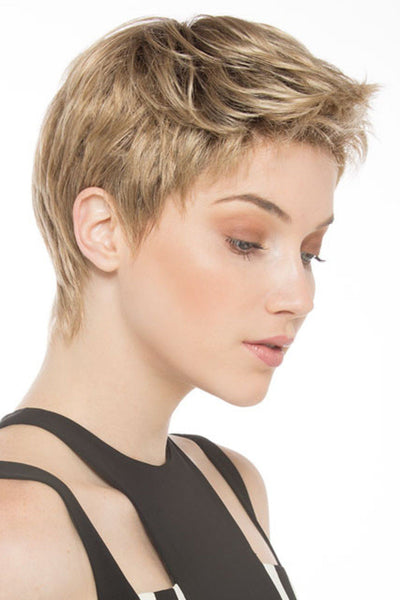 Ellen Wille Wig - Risk - Sandy Blonde Rooted - Side
