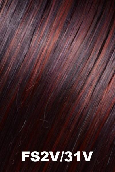 EasiHair - EasiPart HD 12 (#356) Extension EasiHair Chocolate Cherry (FS2V/31V)
