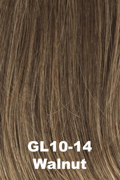 Gabor Wigs - Under Cover Halo Bangs Gabor Walnut (GL10-14)