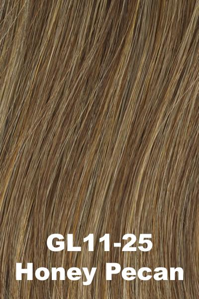 Gabor Wigs - Under Cover Halo Bangs Gabor Honey Pecan (GL11-25)