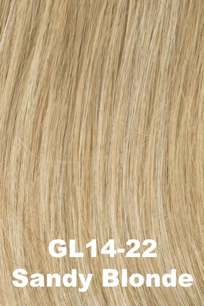 Gabor Wigs - Under Cover Halo Bangs Gabor Sandy Blonde (GL14-22)