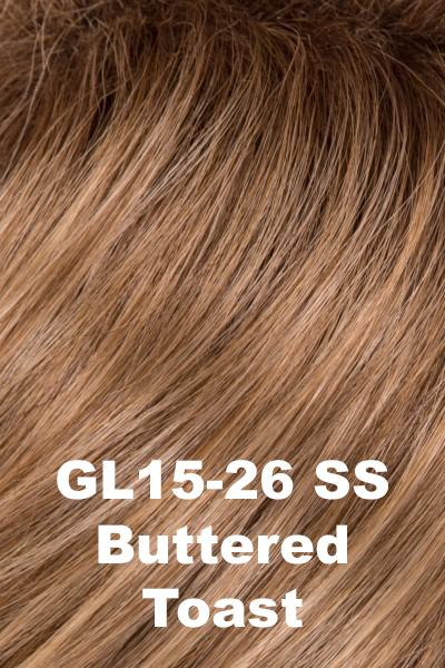 Gabor Wigs - Page Turner wig Gabor SS Buttered Toast (GL15-26SS) +$4.25 Petite-Average