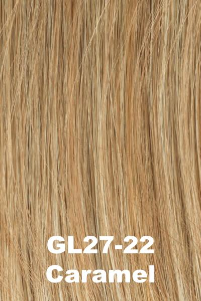 Gabor Wigs - Under Cover Halo Bangs Gabor Caramel (GL27-22)