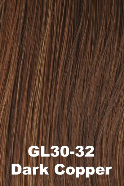 Gabor Wigs - Under Cover Halo Bangs Gabor Dark Copper (GL30-32)